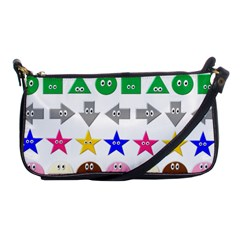 Cute Symbol Shoulder Clutch Bags