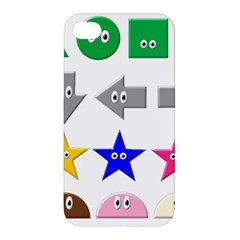 Cute Symbol Apple Iphone 4/4s Premium Hardshell Case