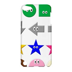Cute Symbol Apple Ipod Touch 5 Hardshell Case