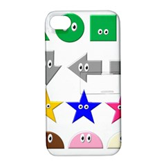 Cute Symbol Apple Iphone 4/4s Hardshell Case With Stand by Nexatart