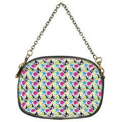 Cool Graffiti Patterns  Chain Purses (one Side)  by Nexatart