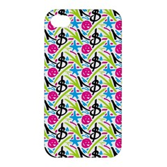 Cool Graffiti Patterns  Apple Iphone 4/4s Premium Hardshell Case