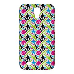 Cool Graffiti Patterns  Samsung Galaxy Mega 6 3  I9200 Hardshell Case by Nexatart
