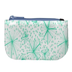 Pattern Floralgreen Large Coin Purse