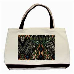 Ethnic Art Pattern Basic Tote Bag (two Sides)