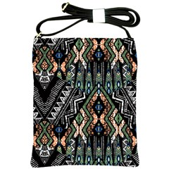 Ethnic Art Pattern Shoulder Sling Bags by Nexatart