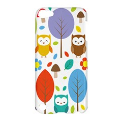 Cute Owl Apple Ipod Touch 5 Hardshell Case