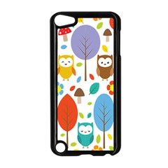 Cute Owl Apple Ipod Touch 5 Case (black)