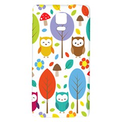 Cute Owl Galaxy Note 4 Back Case