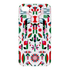 Abstract Peacock Apple Iphone 4/4s Premium Hardshell Case by Nexatart