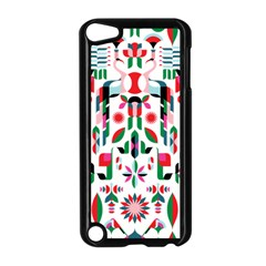 Abstract Peacock Apple Ipod Touch 5 Case (black)