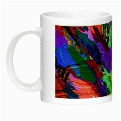 Tropical Jungle Print And Color Trends Night Luminous Mugs by Nexatart