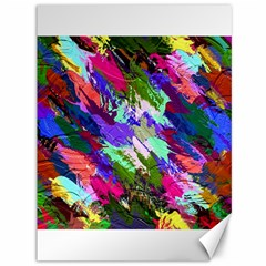 Tropical Jungle Print And Color Trends Canvas 36  X 48   by Nexatart