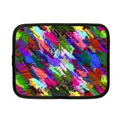 Tropical Jungle Print And Color Trends Netbook Case (small)  by Nexatart