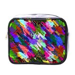 Tropical Jungle Print And Color Trends Mini Toiletries Bags Front