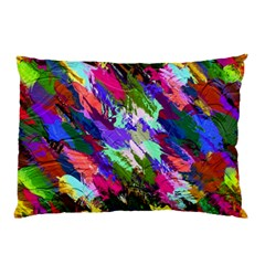 Tropical Jungle Print And Color Trends Pillow Case (two Sides) by Nexatart