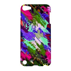 Tropical Jungle Print And Color Trends Apple Ipod Touch 5 Hardshell Case by Nexatart