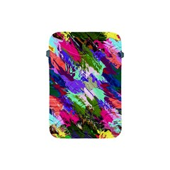 Tropical Jungle Print And Color Trends Apple Ipad Mini Protective Soft Cases by Nexatart
