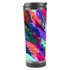 Tropical Jungle Print And Color Trends Travel Tumbler by Nexatart