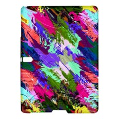 Tropical Jungle Print And Color Trends Samsung Galaxy Tab S (10 5 ) Hardshell Case  by Nexatart