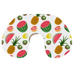 Fruits Pattern Travel Neck Pillows