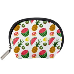 Fruits Pattern Accessory Pouches (small)