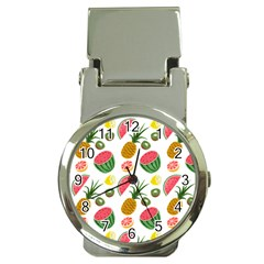 Fruits Pattern Money Clip Watches by Nexatart