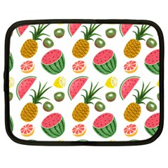 Fruits Pattern Netbook Case (large) by Nexatart