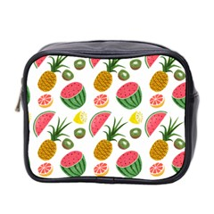 Fruits Pattern Mini Toiletries Bag 2 Side