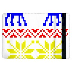 Jacquard With Elks Ipad Air Flip by Nexatart