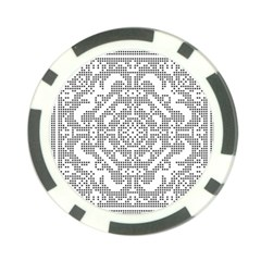 Mosaic Pattern Cyberscooty Museum Pattern Poker Chip Card Guard (10 Pack)
