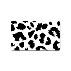 Leopard Skin Magnet (name Card) by Nexatart