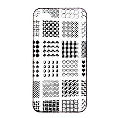 Retro Patterns Apple Iphone 4/4s Seamless Case (black) by Nexatart
