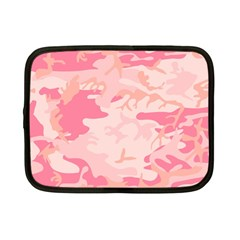 Pink Camo Print Netbook Case (small)