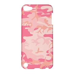 Pink Camo Print Apple Ipod Touch 5 Hardshell Case by Nexatart
