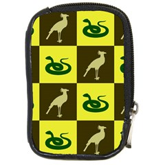 Bird And Snake Pattern Compact Camera Cases