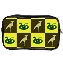 Bird And Snake Pattern Toiletries Bags 2 Side