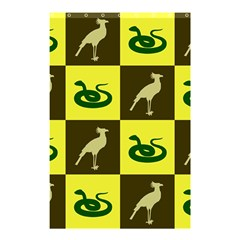 Bird And Snake Pattern Shower Curtain 48  X 72  (small)  by Nexatart