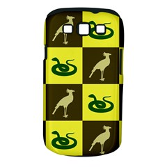 Bird And Snake Pattern Samsung Galaxy S Iii Classic Hardshell Case (pc+silicone) by Nexatart