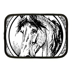 Framed Horse Netbook Case (medium)  by Nexatart