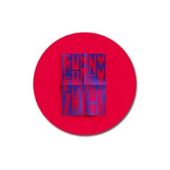 Funny Foggy Thing Magnet 3  (round)