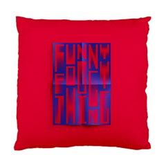 Funny Foggy Thing Standard Cushion Case (one Side) by Nexatart