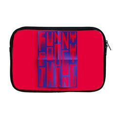 Funny Foggy Thing Apple Macbook Pro 17  Zipper Case