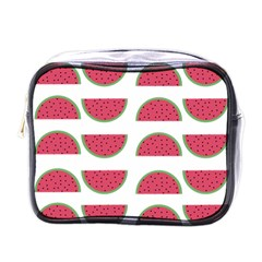 Watermelon Pattern Mini Toiletries Bags by Nexatart