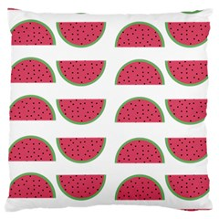 Watermelon Pattern Large Cushion Case (two Sides) by Nexatart