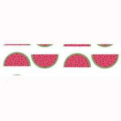 Watermelon Pattern Large Bar Mats by Nexatart