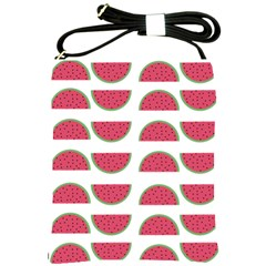 Watermelon Pattern Shoulder Sling Bags by Nexatart