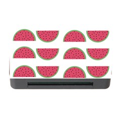Watermelon Pattern Memory Card Reader With Cf by Nexatart