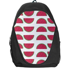Watermelon Pattern Backpack Bag by Nexatart