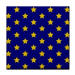 Star Pattern Tile Coasters by Nexatart